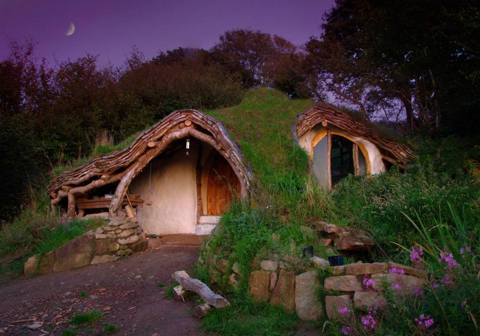 Hobbit Haus a low impact woodland home by simon dale small house bliss
