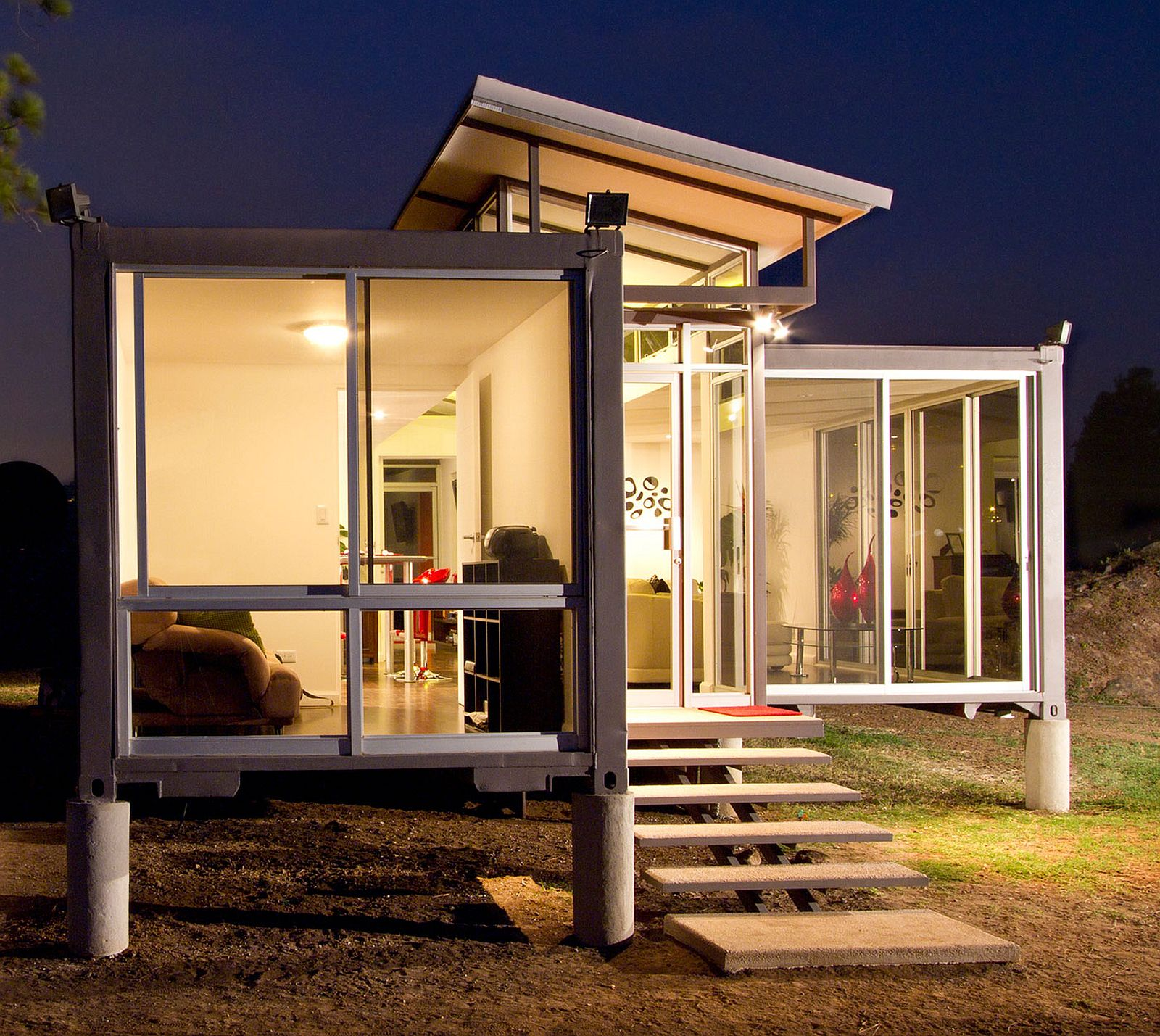 Containers of hope a low cost home by benjamin garcia saxe small house bliss - Foot shipping container home ...