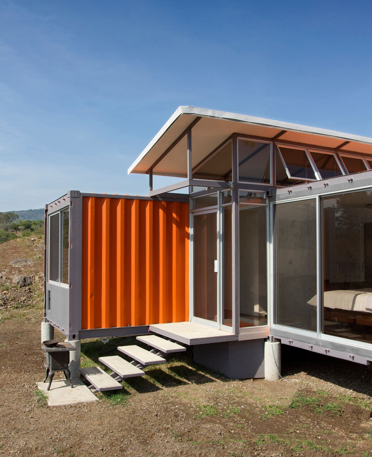 Containers of hope a low cost home by benjamin garcia saxe small house bliss - Homes made from shipping containers cost ...
