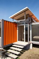 Containers of Hope, a low-cost home constructed from two 40' containers.   www.facebook.com/SmallHouseBliss