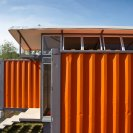 Containers of Hope, a low-cost home constructed from two 40' containers. | www.facebook.com/SmallHouseBliss