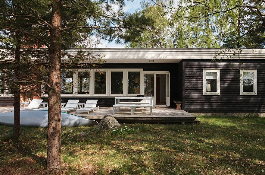 gallery mid century modern home in sweden small house bliss