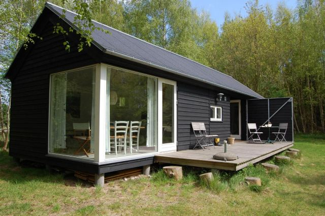 a modular vacation house from denmark | møn huset | small house bliss