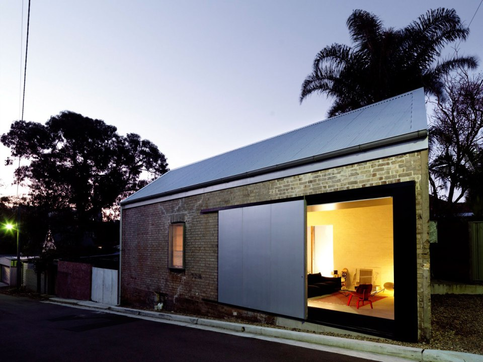 The Shed, a former blacksmith's workshop converted into a 2-bedroom home. | www.facebook.com/SmallHouseBliss
