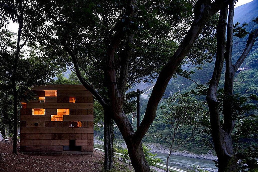 Weekend Fun: Final Wooden House | Sou Fujimoto