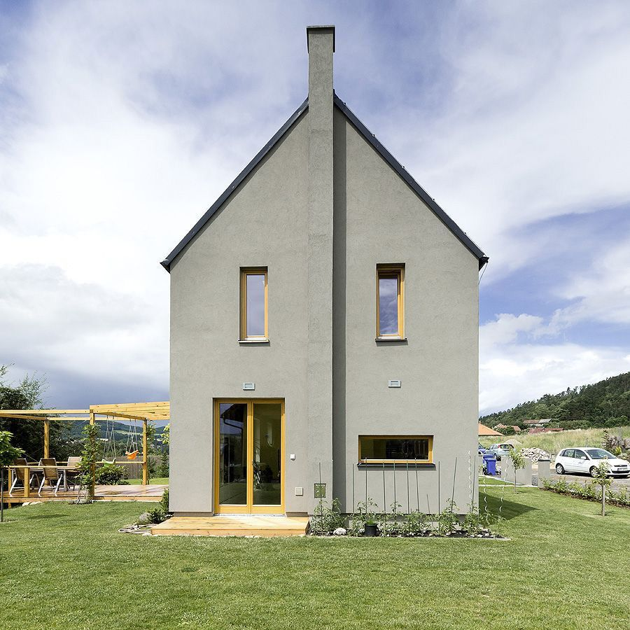 Small House With a Great View by A1 Architects