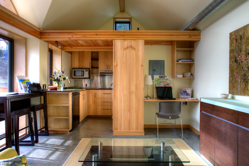 The mini b a small passive house joseph giampietro 300 sq foot house