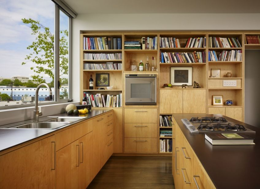 Gallery: The Sky Ranch House, a rooftop residence | Miller ... on small kitchen design for cabin, kitchen remodel ideas for ranch house, small ranch kitchen remodel ideas,