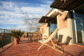 An old stable in Spain was turned into a small house with 1 bedroom in 592 sq ft. | www.facebook.com/SmallHouseBliss