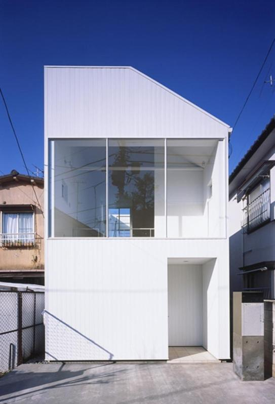 House in Sanno, a tiny house by Studio NOA | Small House Bliss
