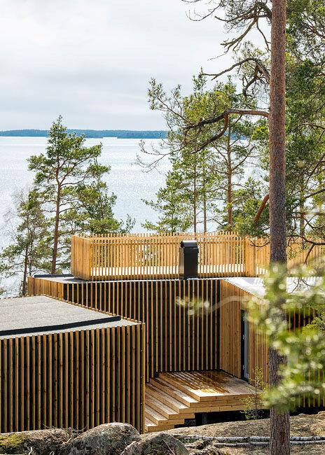 Modern Scandinavian Vacation Cottages Thomas Sandell