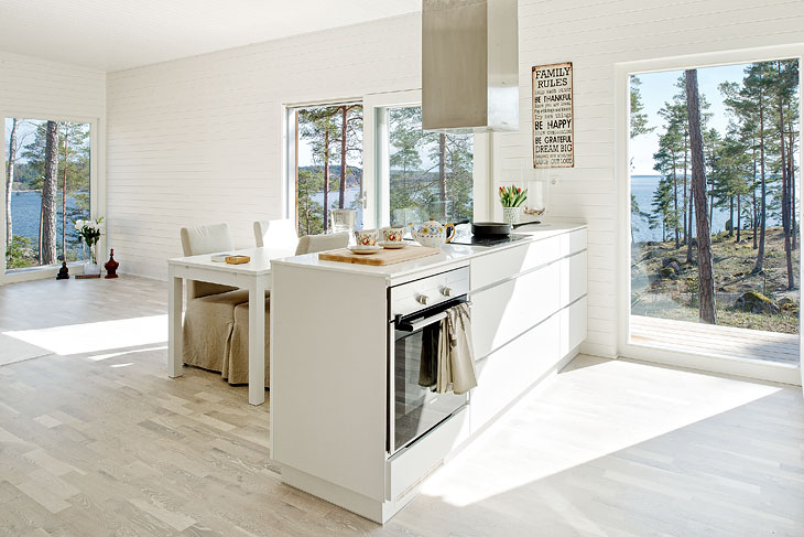 Modern Scandinavian vacation cottages Thomas Sandell Small