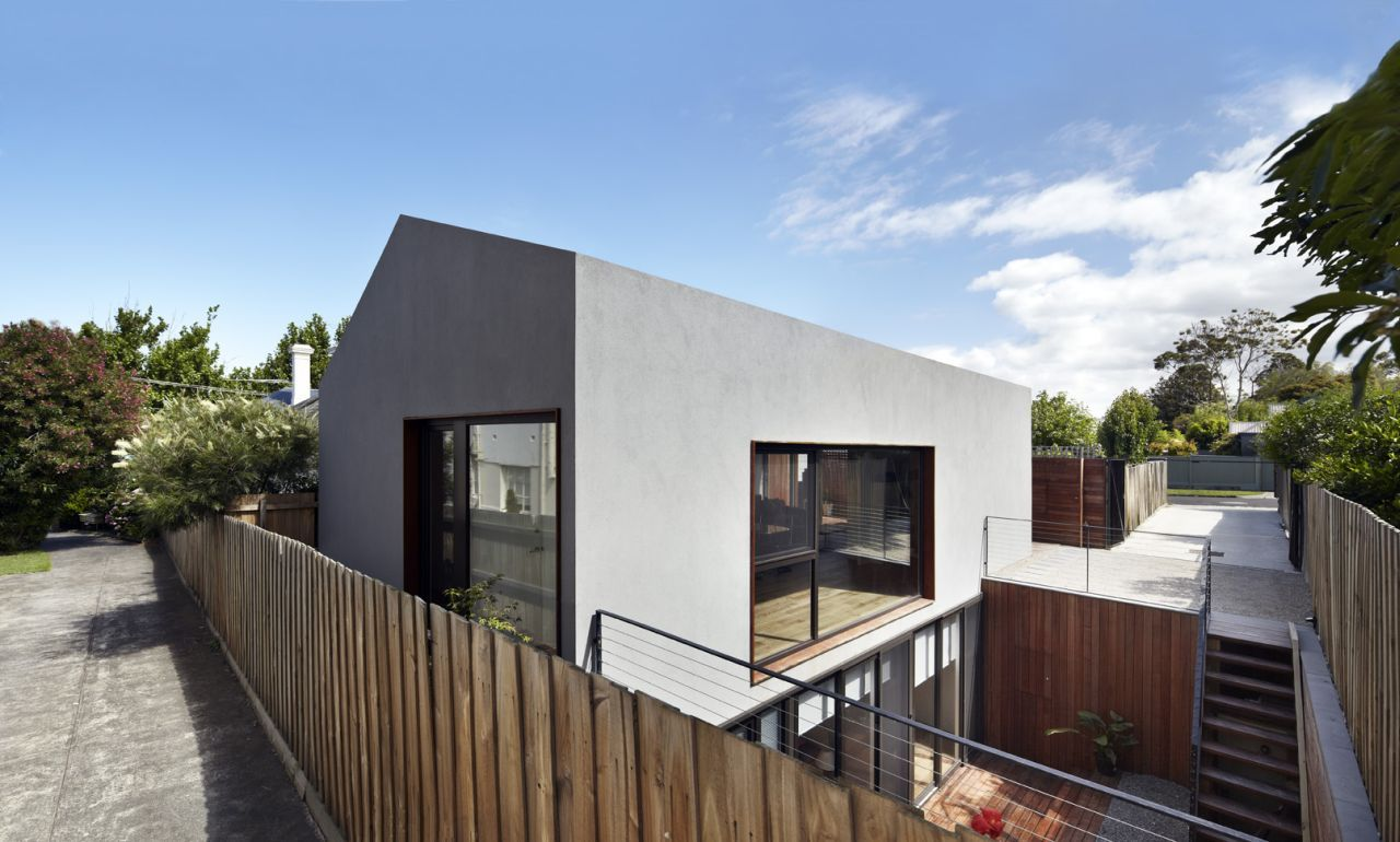 Gallery: Small House With A Sunken Patio By Gestalten