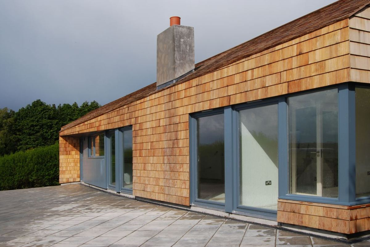 all weather house in ireland roewuarchitecture small
