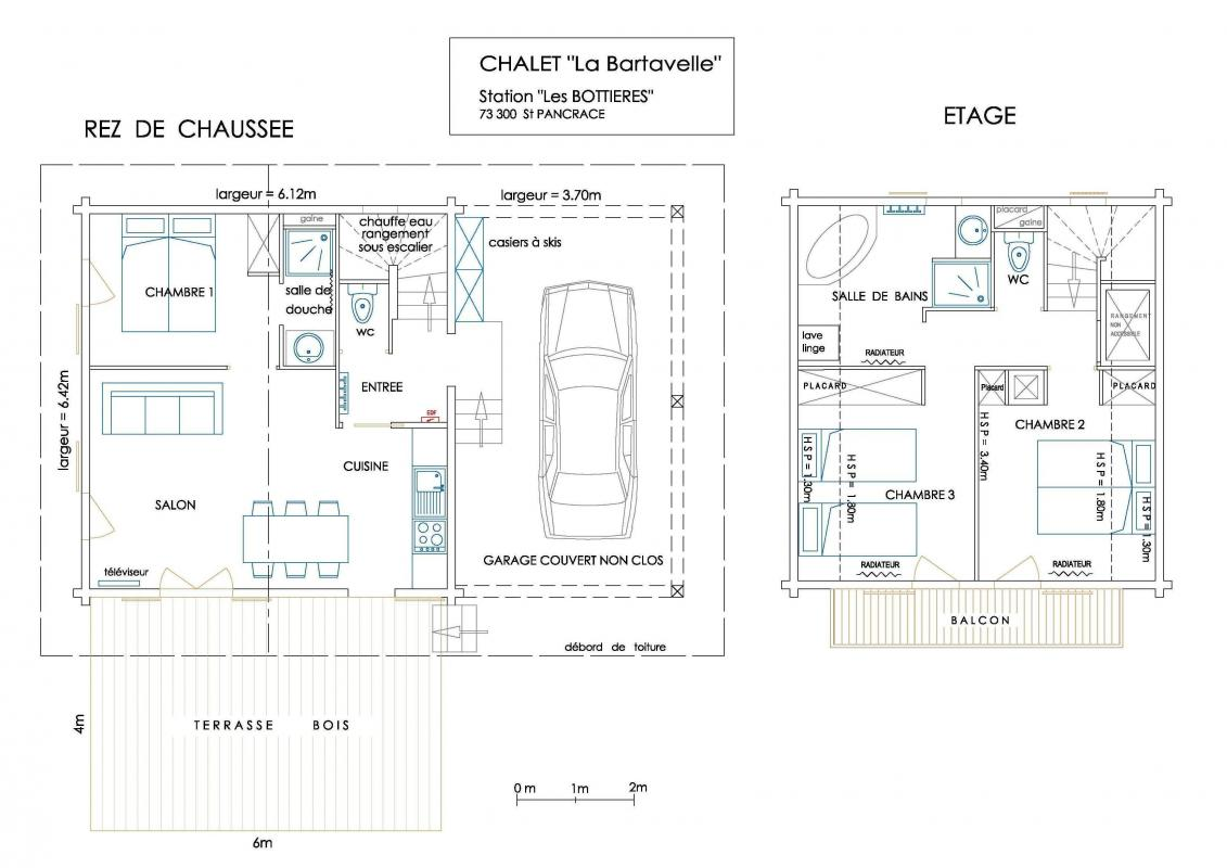 Gallery ski chalet in the french alps small house bliss for Floor plan in french