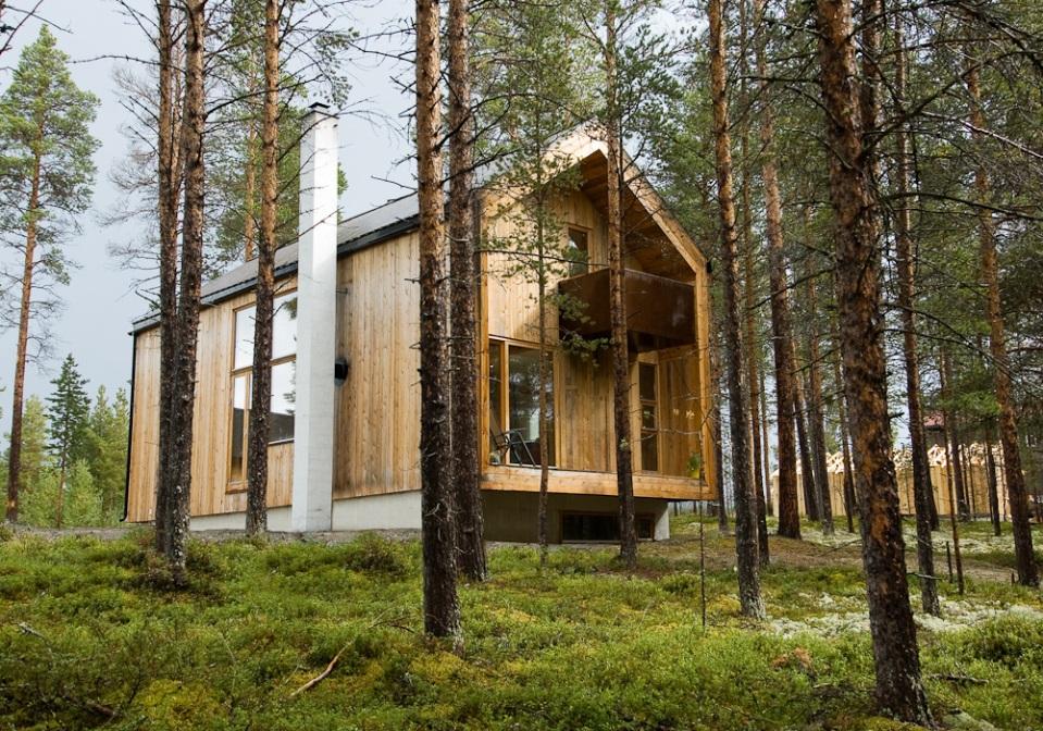 Gunnar s house huus og heim arkitektur small house bliss for Scandinavian modern house