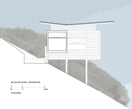 This modest cabin has a dramatic clifftop setting. The cabin has 1 bedroom in 592 sq ft.   www.facebook.com/SmallHouseBliss