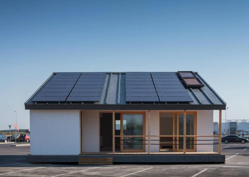 Gallery The Prispa Solar House Small House Bliss