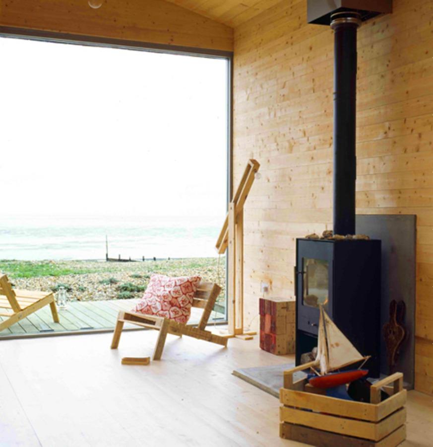 Small House On The Beach: Modern Beach Hut By Studiomama