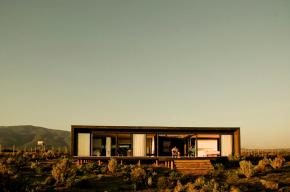 Casa B8, a small modern beach house in Chile. | www.facebook.com/SmallHouseBliss