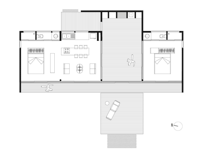 Gallery Casa B8 A Modern Beach House In Chile