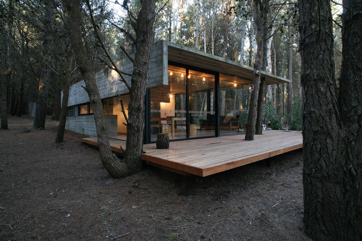 Casa mar azul bak arquitectos small house bliss for Simple modern tiny house
