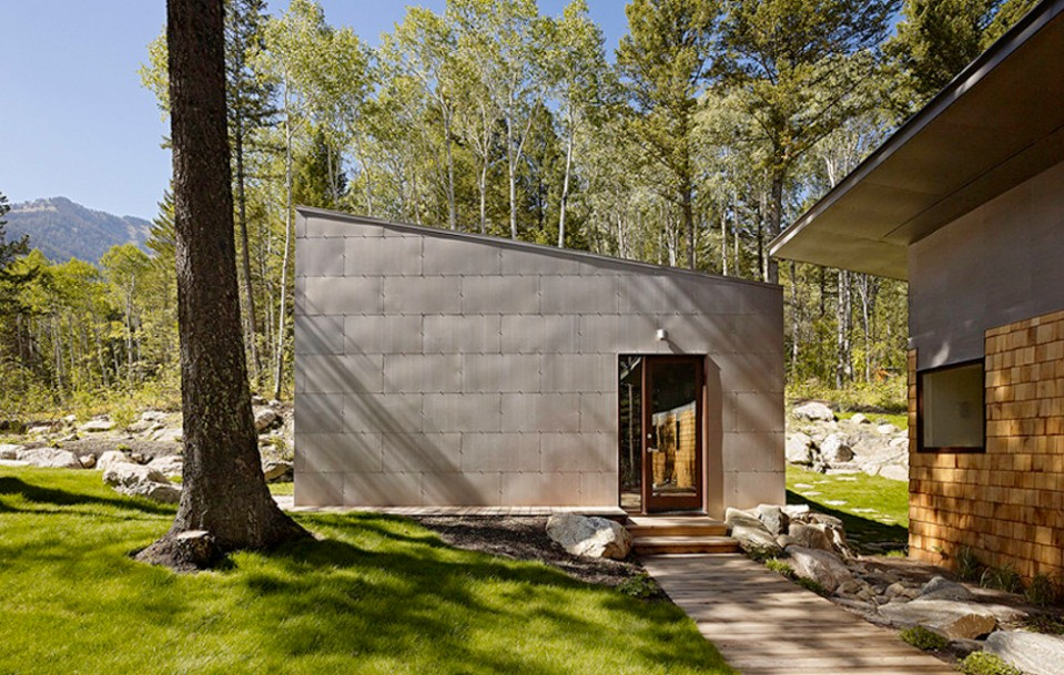 Fish Creek Guest House, a small modern home with two bedrooms in 950 sq ft.   www.facebook.com/SmallHouseBliss