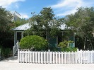 Dream Catcher Cottage in Seaside, Florida has 2 bedrooms and a large loft in 1,035 sq ft. | www.facebook.com/SmallHouseBliss
