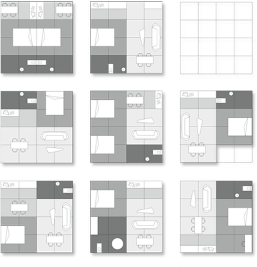 Gallery mima house a modern flexible prefab mima for Flexible house plans