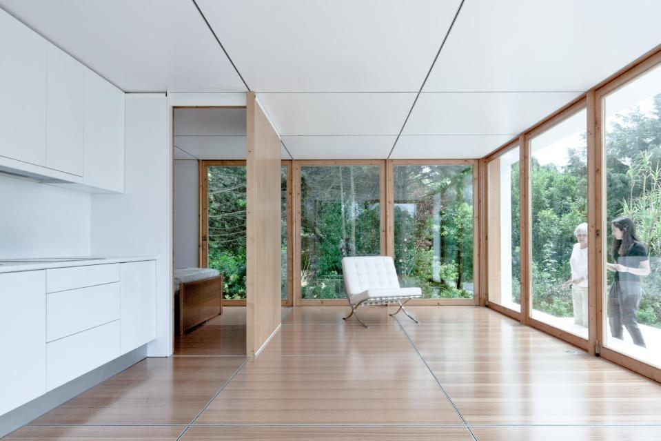 Gallery mima house a modern flexible prefab mima House with movable walls