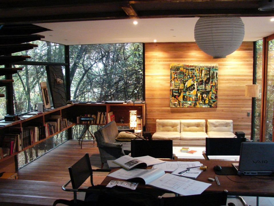 Casa Apolo 11, a secluded forest house with 2 bedrooms in 1,033 sq ft. | www.facebook.com/SmallHouseBliss
