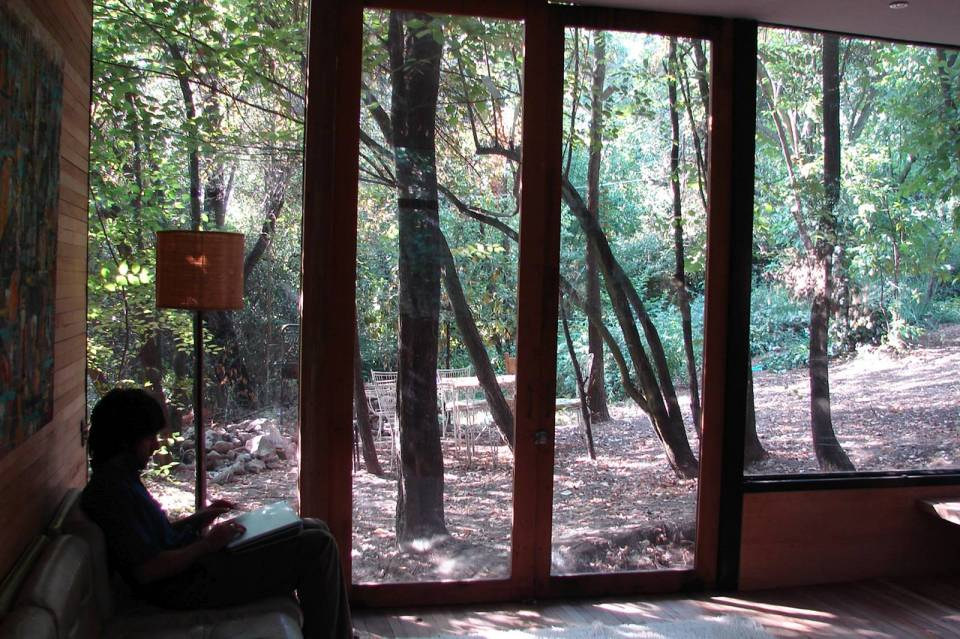 Casa Apolo 11, a secluded forest house with 2 bedrooms in 1,033 sq ft.   www.facebook.com/SmallHouseBliss