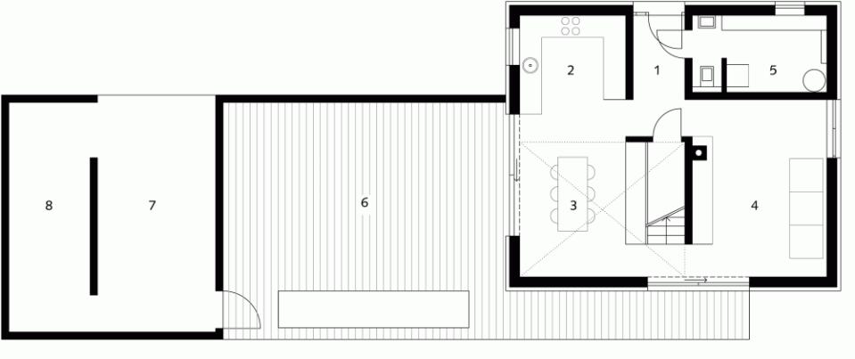 Gallery haus bru a small barn like house soho - Architektur plan ...
