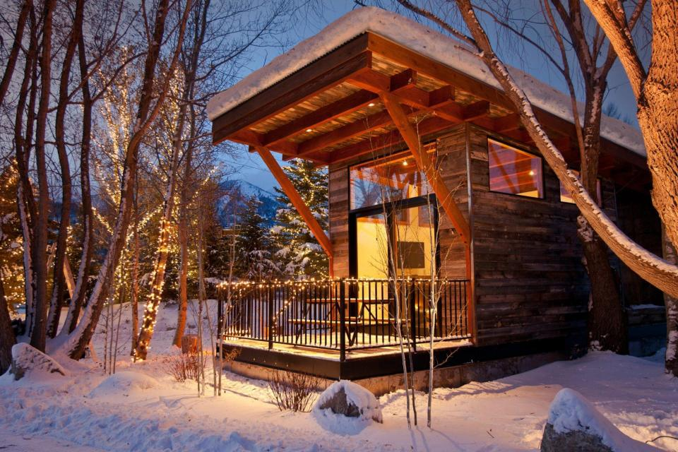 The WheelHaus Wedge cabin