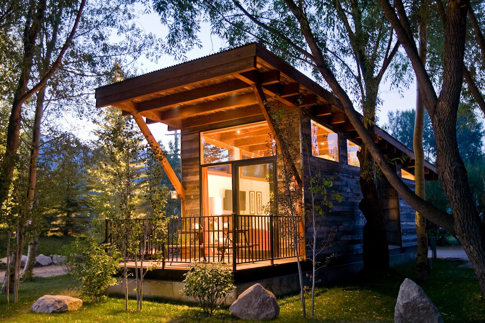 Superb Gallery The Wedge A Small Cabin On Wheels Small House Bliss Largest Home Design Picture Inspirations Pitcheantrous