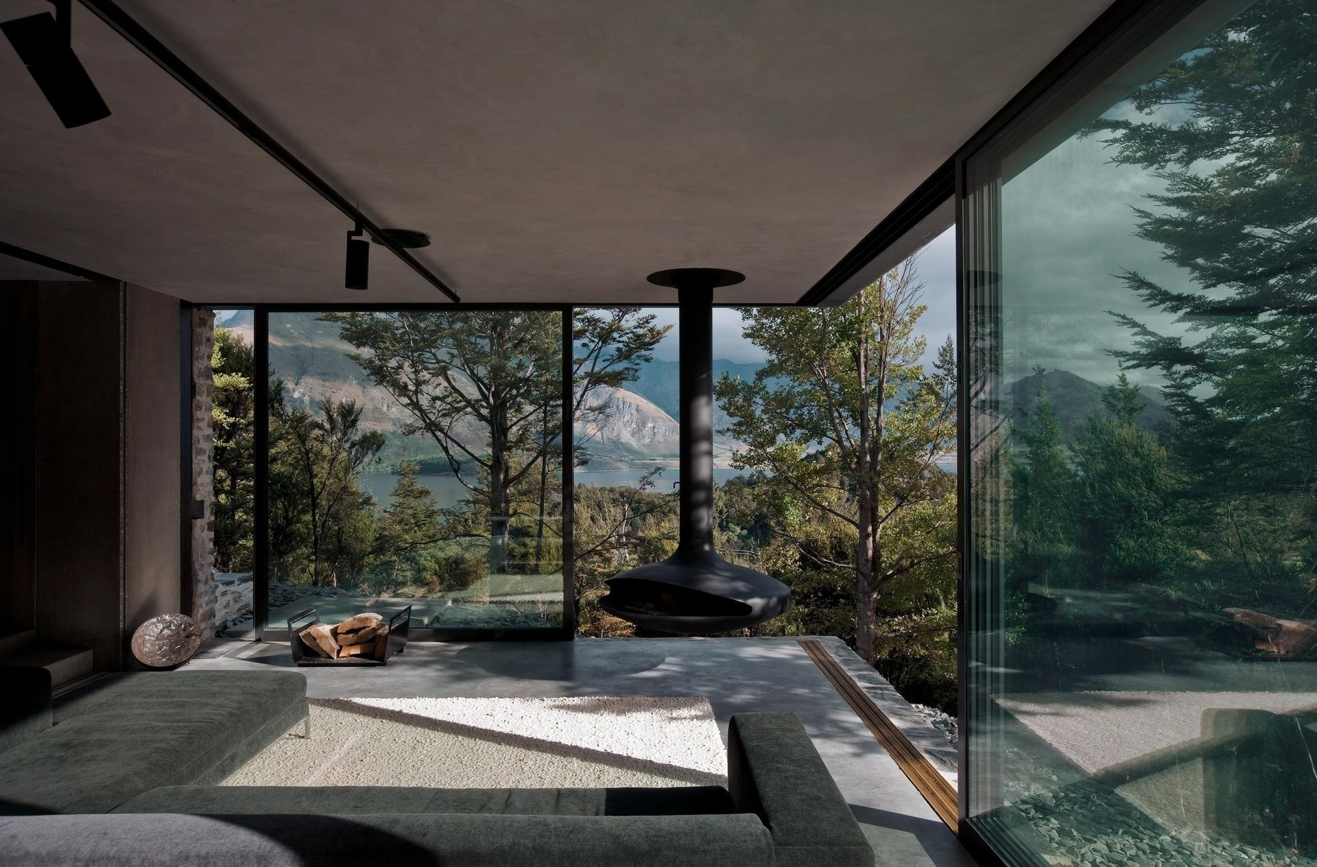 Gallery mountain retreat an earth sheltered modern cabin fearon hay