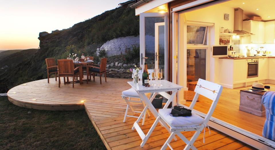 The Edge, a small beach cottage in Cornwall