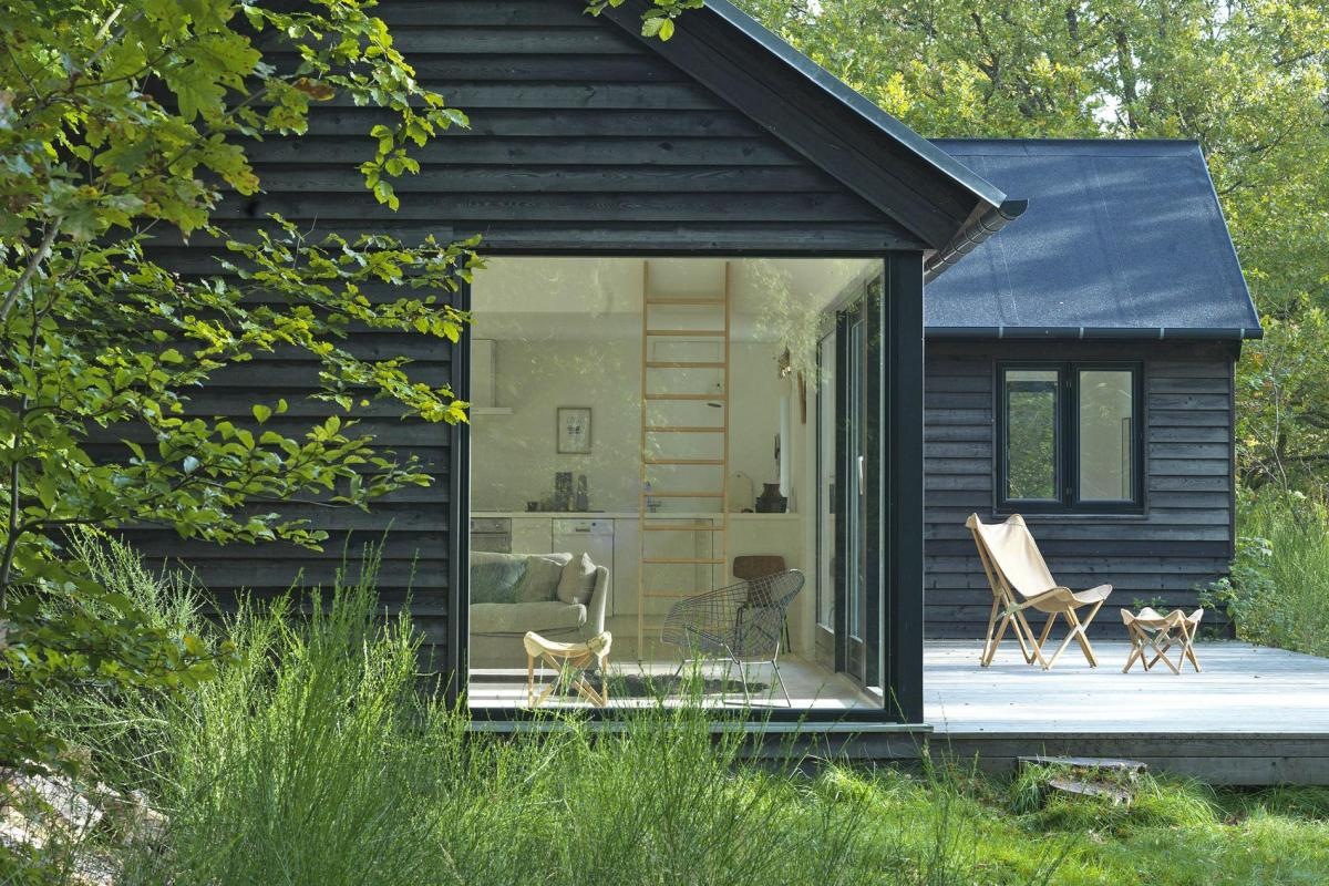 Vacation cottage in denmark m n huset small house bliss for Small modular cabins and cottages