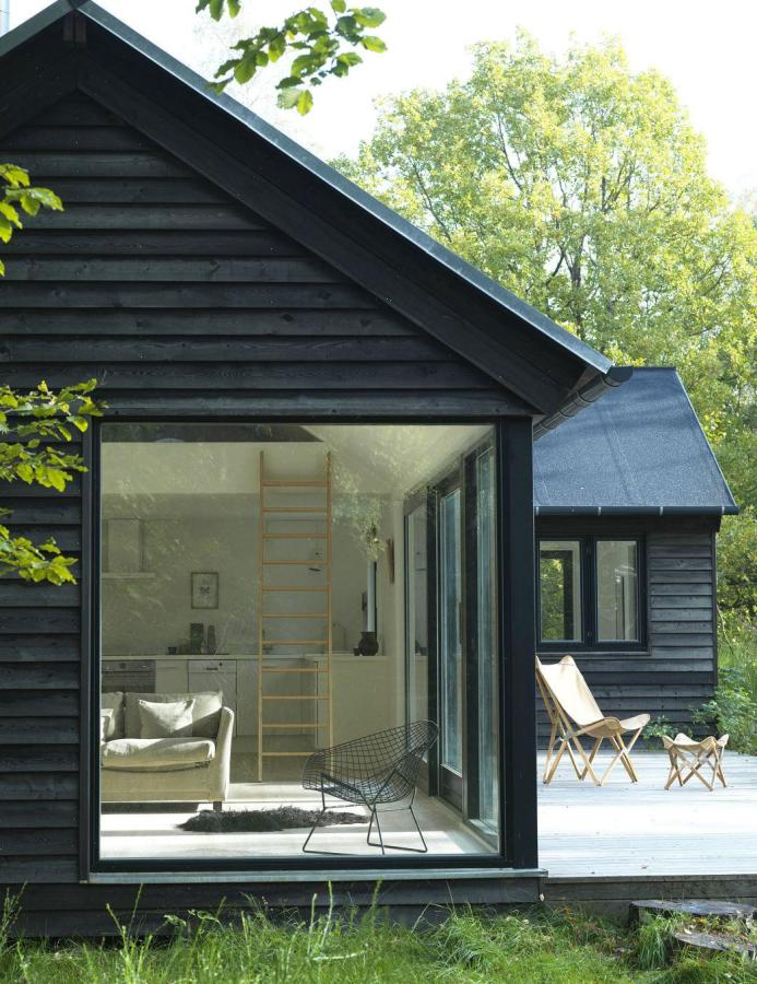Vacation cottage in denmark m n huset small house bliss - Wooden vacation houses nature style ...
