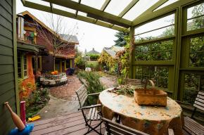 Sabin Green cohousing community by Communitecture and Orange Spot LLC