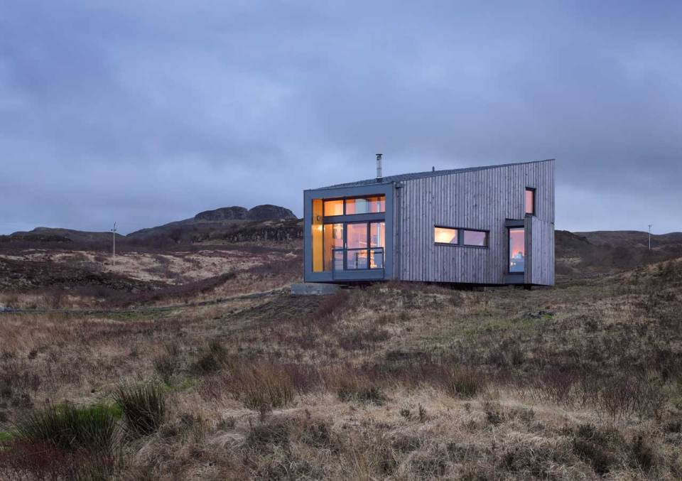 The low impact hen house on the isle of skye rural for Rural design homes
