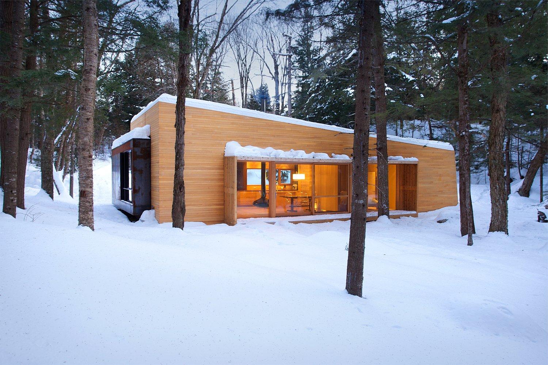1500 X 1000 In La Luge A Modern Ski Cabin