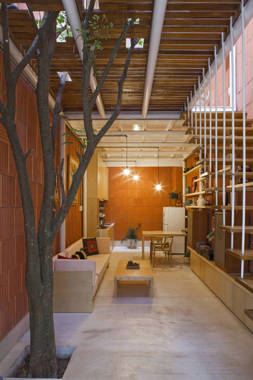 3×9 House, a contemporary renovation in Vietnam by a21studio | Small ...