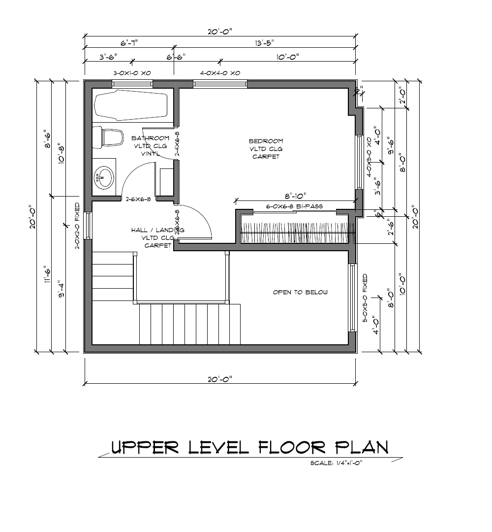 Small Cabin Floor Plans