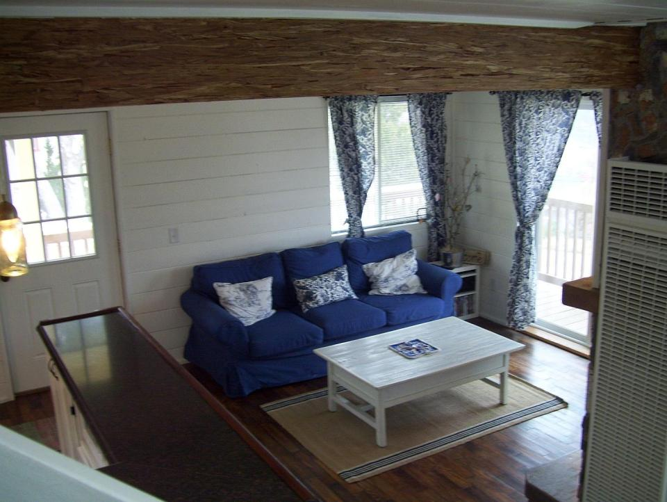 AnnaMarie's Cottage, a small owner-built home with custom hand-crafted features. It has one bedroom in 716 sq ft.   www.facebook.com/SmallHouseBliss