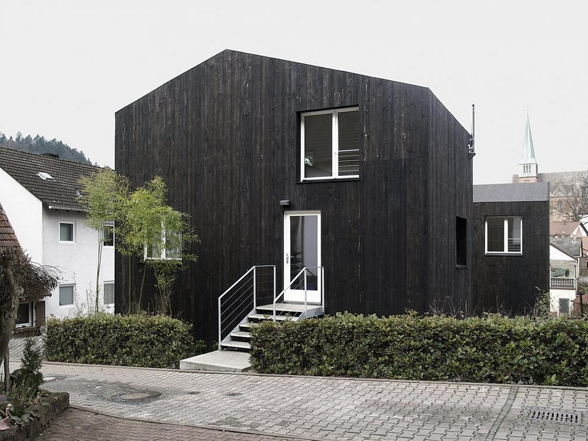 Two Small Houses By Architekturb Ro Scheder Small House