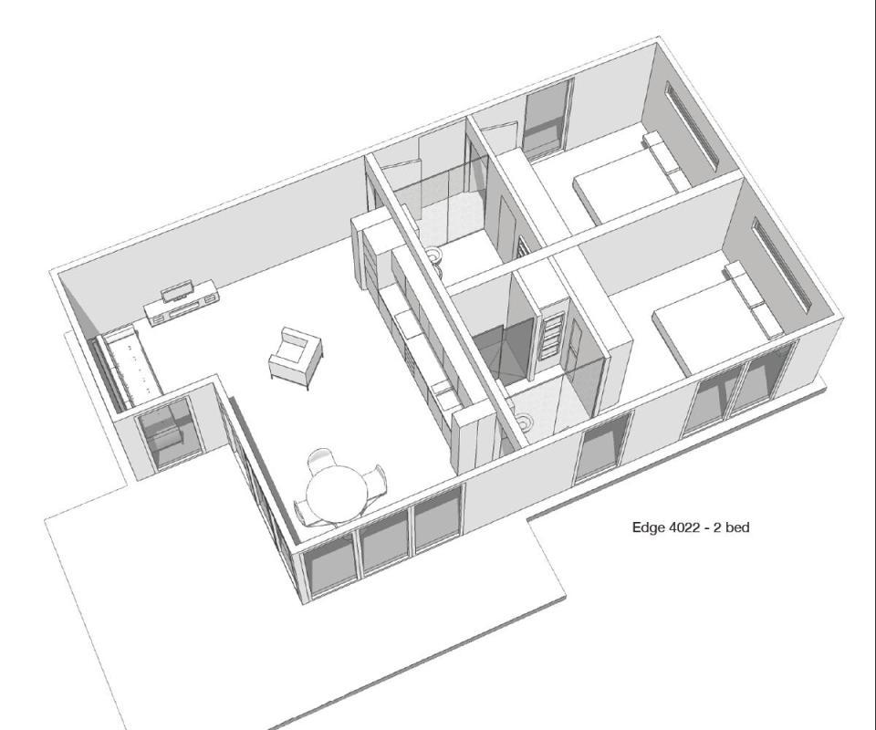 Gallery The Edge Modular Home Boutique Modern Small