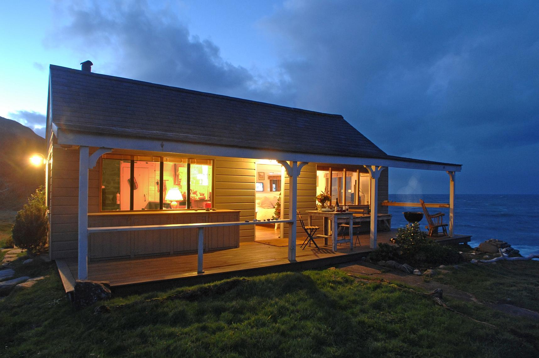 Gallery the beach hut a romantic retreat in cornwall Small beach homes