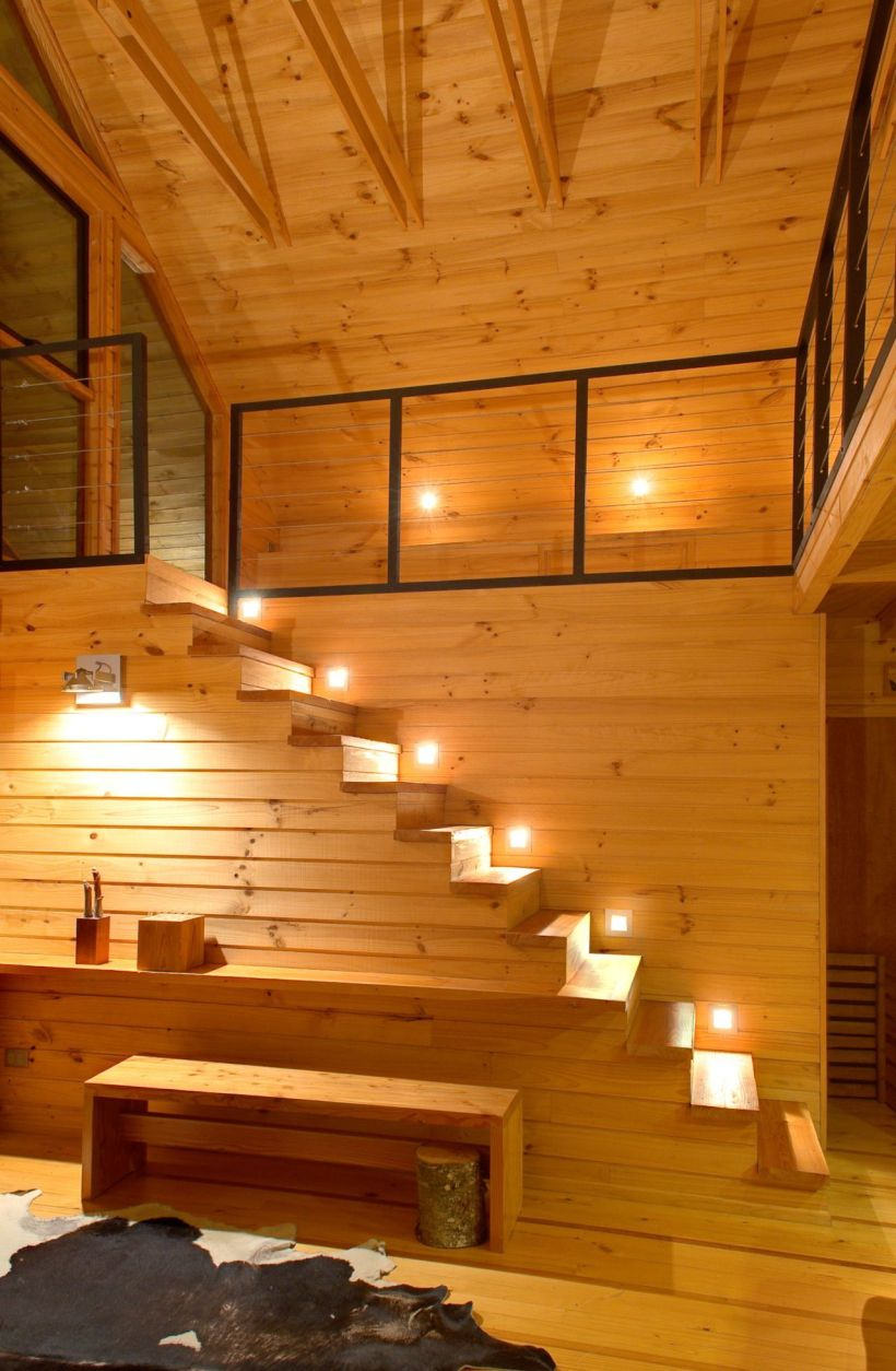 A vacation house with a playful design Matas Silva