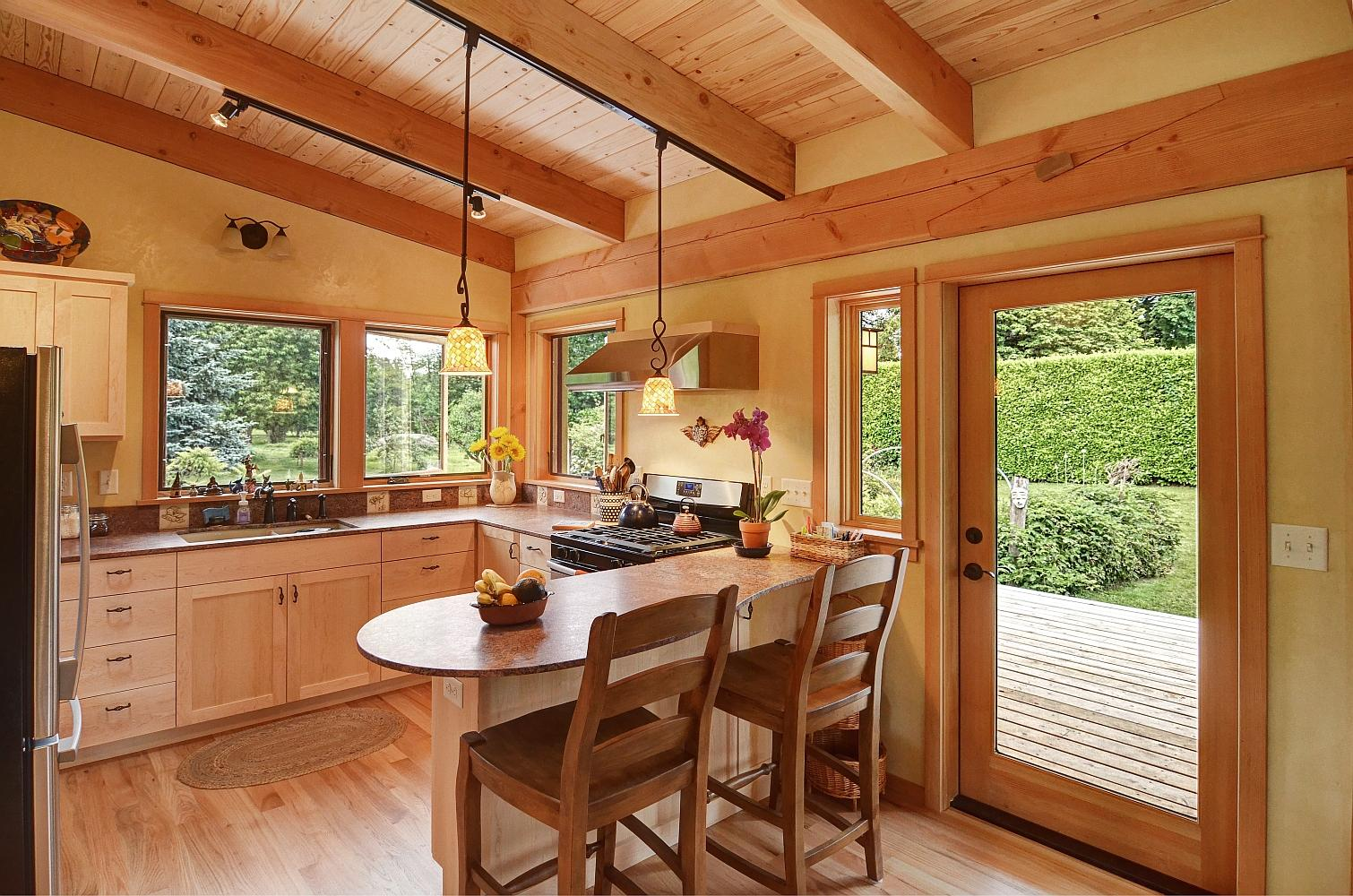 Gallery River Road House A Beautiful Timber Frame